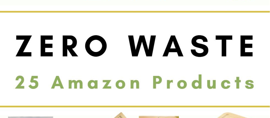25 Zero Waste Amazon Products