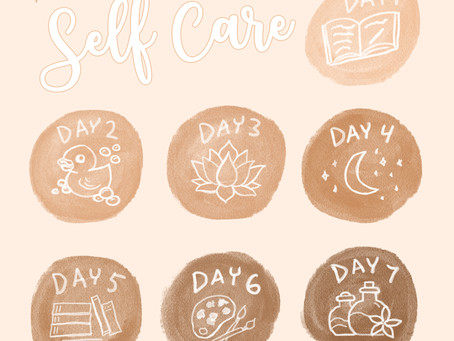 7 Days of Self care