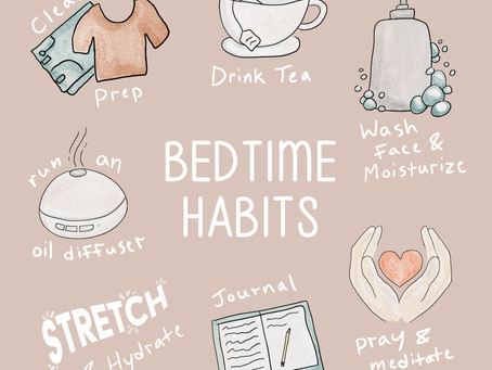 8 Healthy Habits to practice before Bedtime