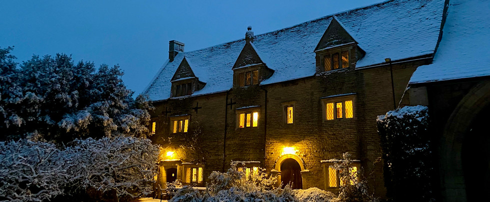 A Snowy Night at the Gatehouse