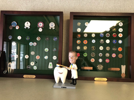 Golf and Dr. Matthew Bobblehead
