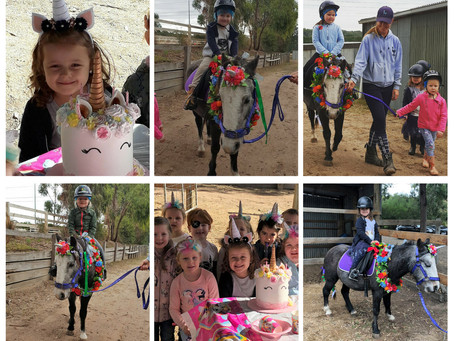Ciera's Unicorn Party!