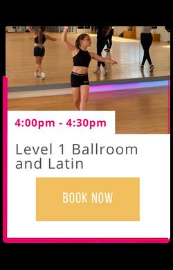 Level 1 Ballroom and Latin