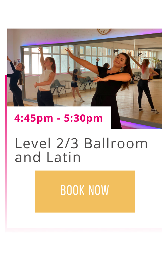 Level 2/3 Ballroom and Latin