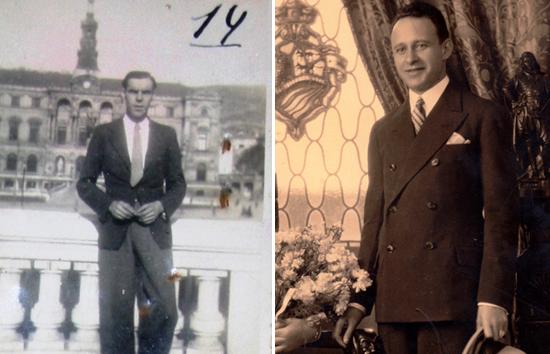 Manuel Rivero, a la derecha, y el hombre que hasta ahora se creía que era él.