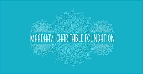 Maadhavi Charitable Foundation Banner