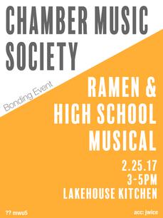 CMS Bonding Event Poster