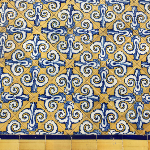 Pattern on Valencia Central Market