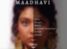 Maadhavi.com homepage image