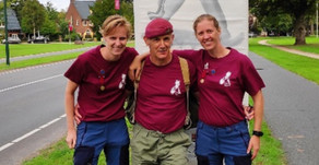 Taxi Charity supporter completes 40km Wandeltocht