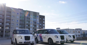 Wireless taxi rank charging set to begin on six retrofitted LEVC cabs