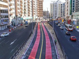 Dubai's RTA completes third phase of bus and taxi lane roll out