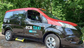 Denbighshire host electric taxi pilot as part of Welsh Government scheme to de-carbonise by 2028