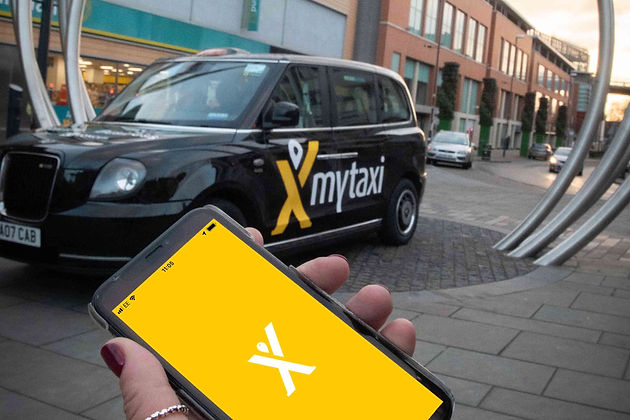 Derby welcomes the launch of mytaxi as licensed taxi app