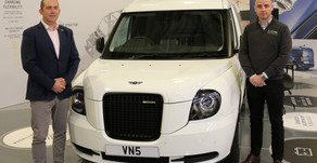 LEVC appoints Inter Vehicle Group (IVG) as its first full taxi and van dealer in Wales