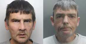 Two men each handed four year jail sentences after attempting to rob taxi driver at knifepoint