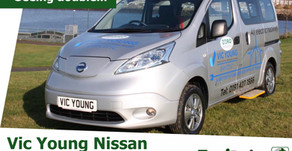 A second Nissan electric taxi convert charges towards UK market