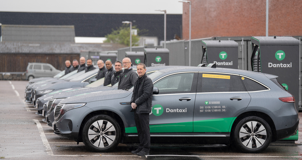 Largest taxi charging hub in the Nordics opens to help phase out diesel cabs by 2025