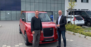 Taxi manufacturer LEVC expands European network with appointment of Autohaus Geisser in Karlsruhe