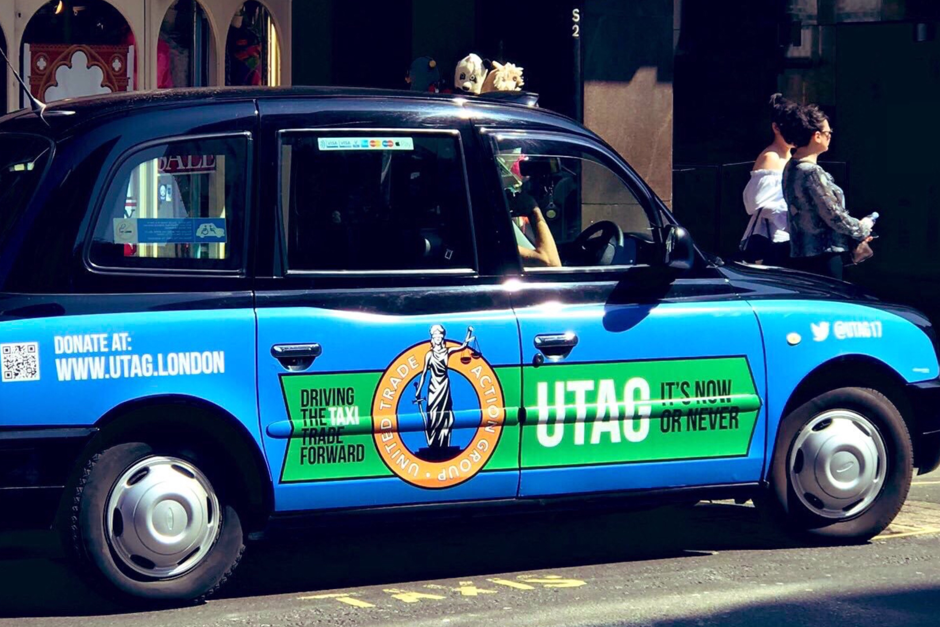 London taxi drivers plan legal action SHOULD Uber win a renewed