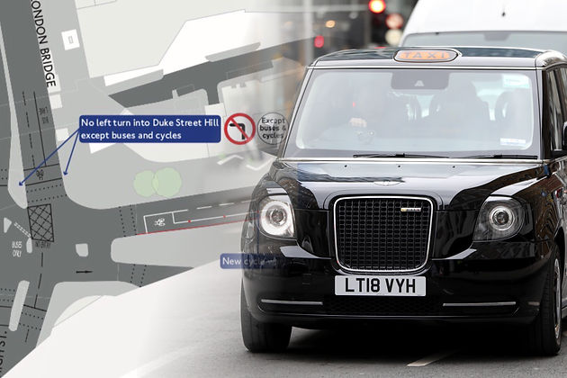 London cabbies set to demo following planned Tooley Street