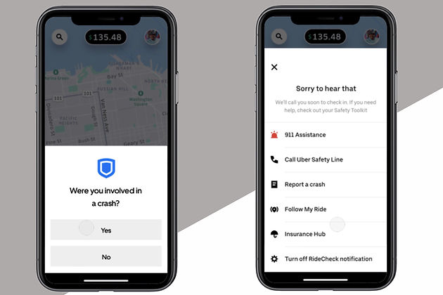 Uber Safety: RideCheck function now available nationwide