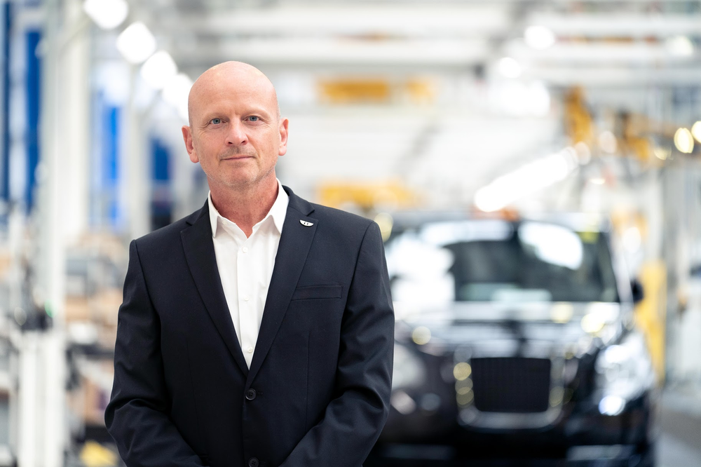 Electric taxi and van manufacturers LEVC appoints Richard Hudson as new Commercial Director