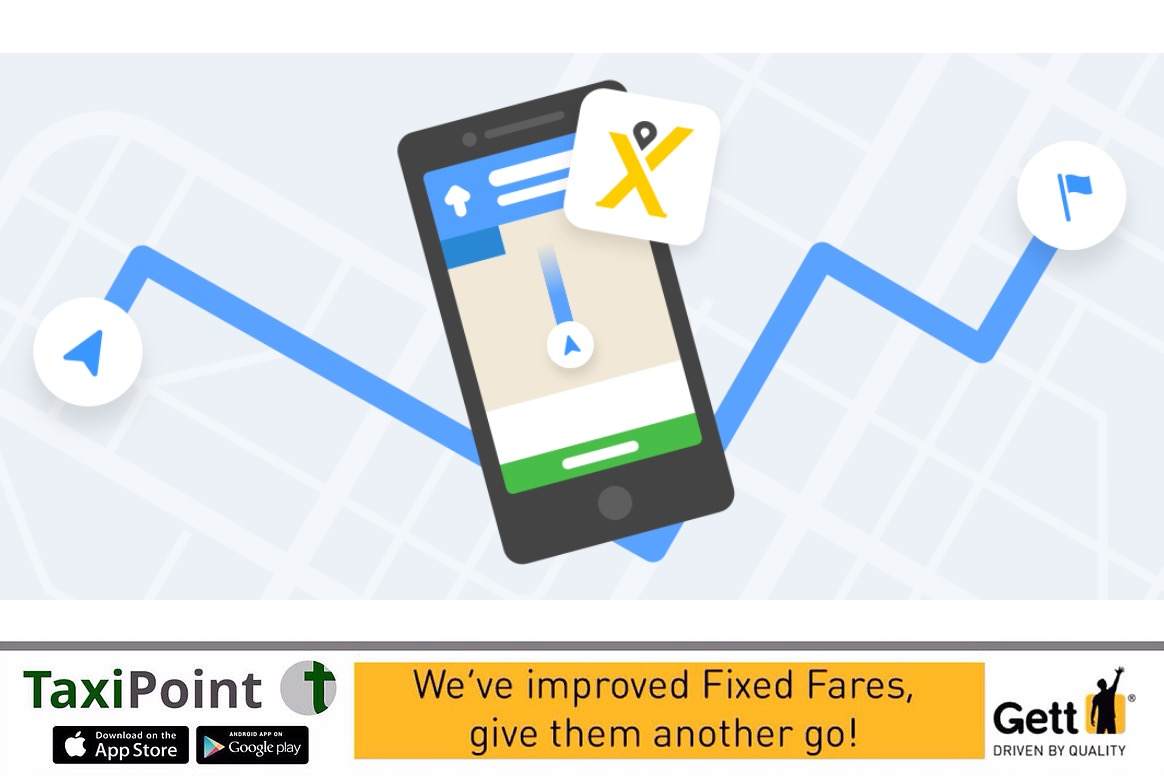 mytaxi Driver App Google Maps Integration | TaxiPoint Taxi News | UK