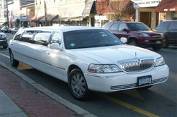 Lincoln Limo - wit