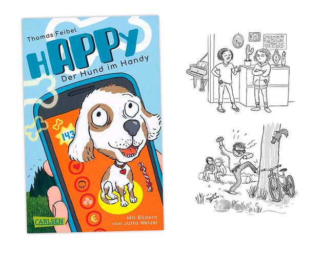 HAPPY Der Hund im Handy