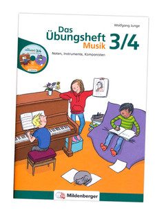 Übungsheft Musik (Mildenberger Verlag)