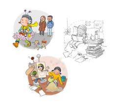 Kleines Heft zum Thema Kinderrechte (AWO Hamburg)