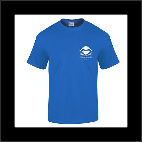 Camisetas logo Fundación Construñimos