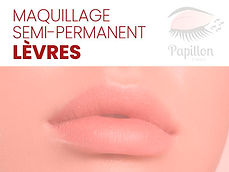 Services 2Maquillage semi-permanent Lèvr