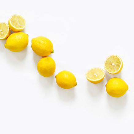 Freash Sliced Lemons