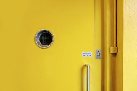 Yellow Ikanik door