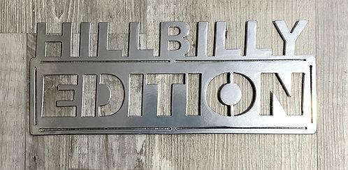 Hillbilly Edition