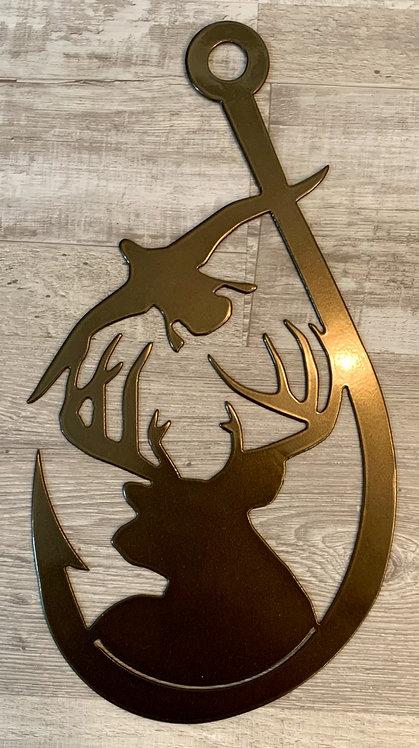 Deer, Duck, Fishhook