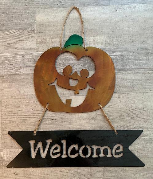Welcome Jack-O-Lantern