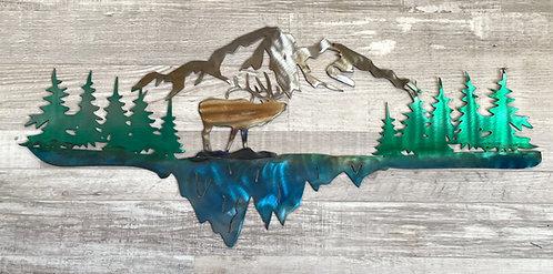 Elk Mountain Scene