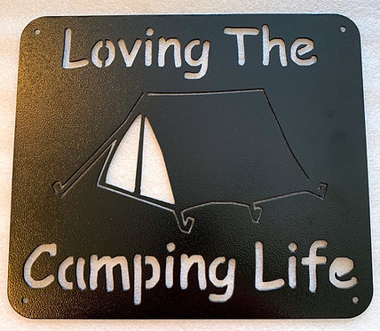 Loving The Camping Life-Tent