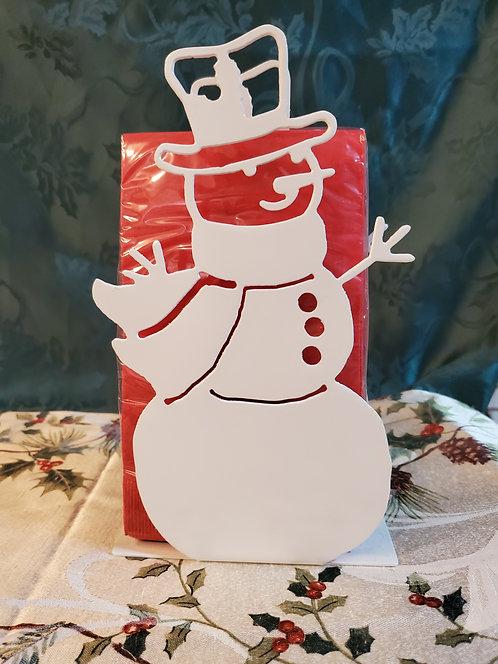 Snowman Napkin Holder