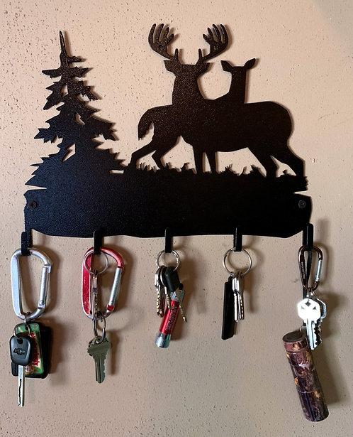 Deer Pair Keyholder