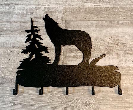 Wolf Key Holder