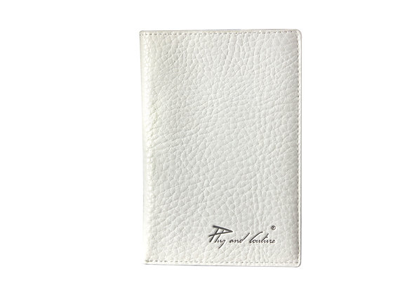 Wallet white/taupe