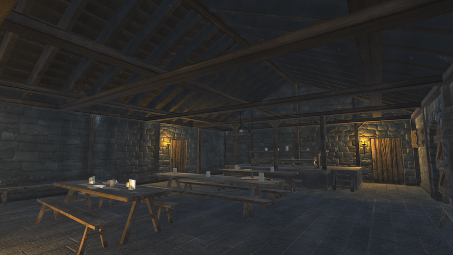 Medieval Dining Hall - Shot 3
