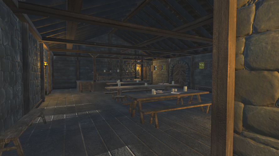 Medieval Dining Hall - Shot 6