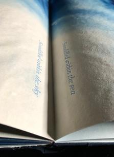 Detail from Reverie, Artist Book