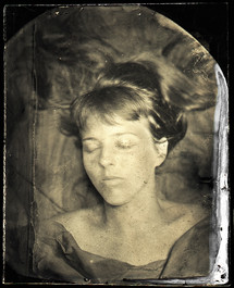 """Wet Plate collodion 4"""" x 6""""and Silver Gelatin Print 20"""" x 24"""""""