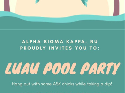 Missing Spring Break? Come to Our Luau Pool Party! - OPEN Social April 18th